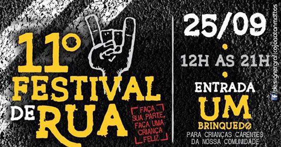 11º Festival de Rua com muito rock, comida e exposição no Casa Amarela Pub Eventos BaresSP 570x300 imagem