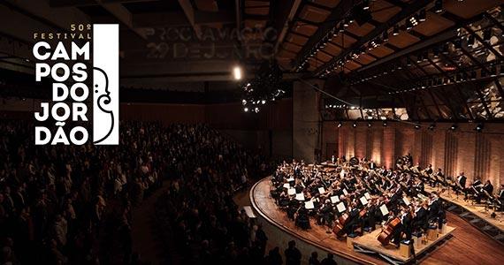Festival Internacional de Inverno de Campos do Jordão no Auditório Claudio Santoro Eventos BaresSP 570x300 imagem