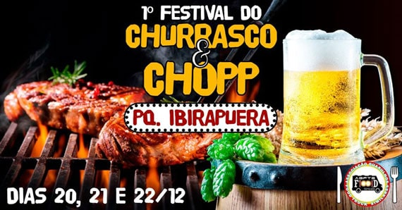 Festival de Churrasco e Chopp no Parque do Ibirapuera
