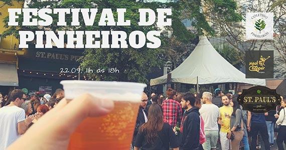 Festival de Pinheiros reúne gastronomia, moda, arte, música e diversão Eventos BaresSP 570x300 imagem