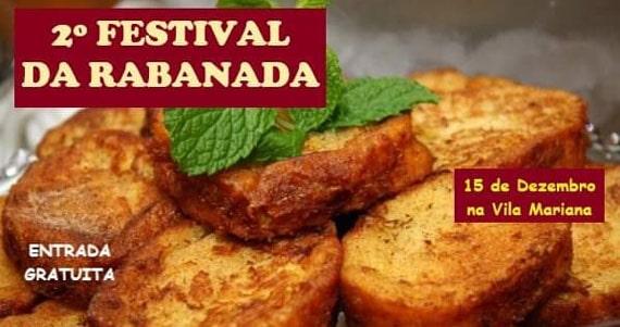 Festival da Rabanada reúne clima natalino na Vila Mariana Eventos BaresSP 570x300 imagem