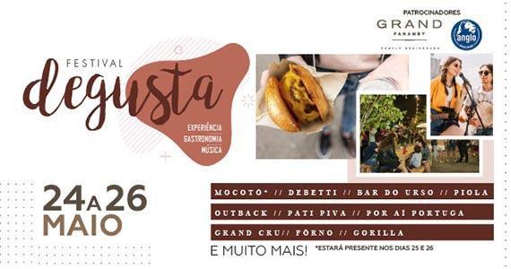 Festival Degusta reúne opções gastronômicas variadas Eventos BaresSP 570x300 imagem