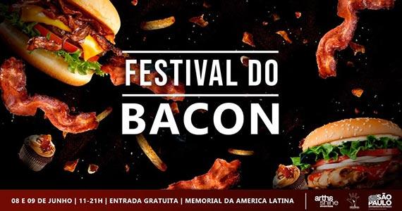 Memorial da América Latina reúne bacon, burguer e cerveja  Eventos BaresSP 570x300 imagem