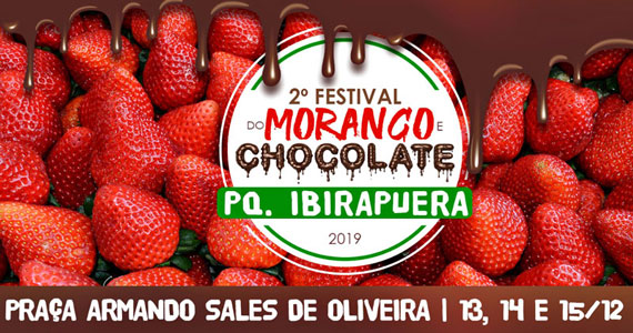 Festival de Morango e Chocolate no Parque do Ibirapuera