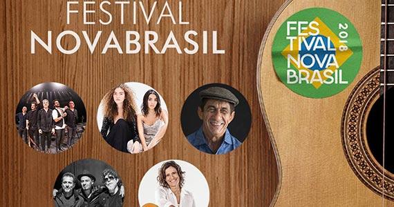 O Festival Nova Brasil 2018 tem grandes nomes da MPB para agitar o público Eventos BaresSP 570x300 imagem