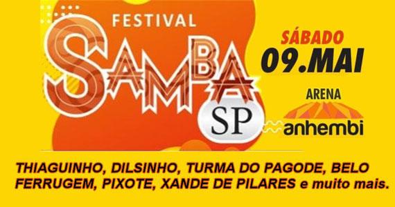 Samba SP com Dilsinho, Thiaguinho, Ferrugem e mais no Anhembi Eventos BaresSP 570x300 imagem