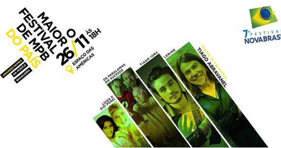 Paralamas do Sucesso, Lenine, Tiago Iorc, Luiza Possi e Zizi Possi participam do 7° Festival NovaBrasil no Espaço das Américas Eventos BaresSP 570x300 imagem