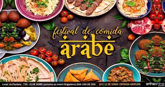 Mercado Místico e Festival de Comida Árabe reúne produtos místicos e o melhor da culinária árabe ao Club Homs Eventos BaresSP 570x300 imagem