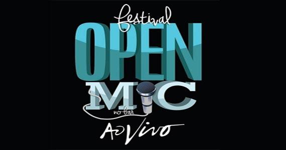 Festival Open Mic traz comediantes iniciantes para se apresentarem no Ao Vivo Music Eventos BaresSP 570x300 imagem