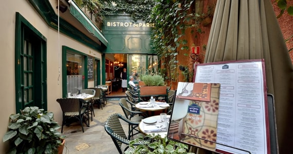 Bistrot de Paris serve Menu com especialidades de Inverno