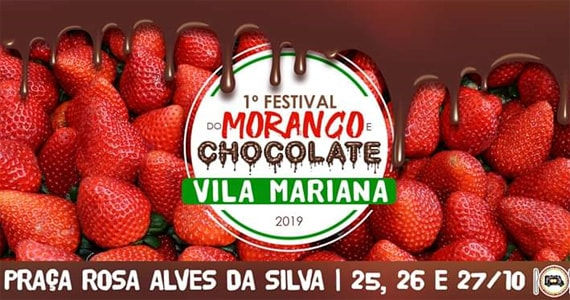 Festival de Morango e Chocolate chega a Vila Mariana em Outubro Eventos BaresSP 570x300 imagem