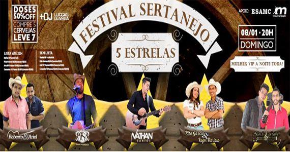 Festival Sertanejo com com Nathan Santos, Nando & Gabriel, Felipe Streparava, Roberto & Ariel e Rita & Roger no Espaço Kalah Eventos BaresSP 570x300 imagem