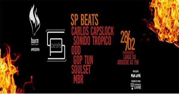 Festival SP Beats faz sua estreia no Carnaval de São Paulo no Largo do Arouche Eventos BaresSP 570x300 imagem