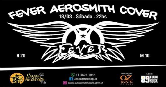 Fever Aerosmith Cover embala a noite de sábado no Casa Amarela Pub Eventos BaresSP 570x300 imagem