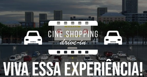 Shopping Fiesta leva grandes filmes para o cinema Drive In