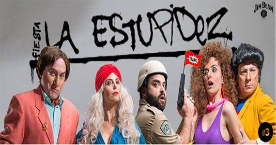 Fiesta La Estupidez com os Djs Andre Marcondes, Daniel Prado, Dimitri Donaggio e As Groselhas no Alberta #3 Eventos BaresSP 570x300 imagem