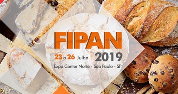 FIPAN 2019 reúne os maiores profissionais do setor de panificação, confeitaria e food business Eventos BaresSP 570x300 imagem