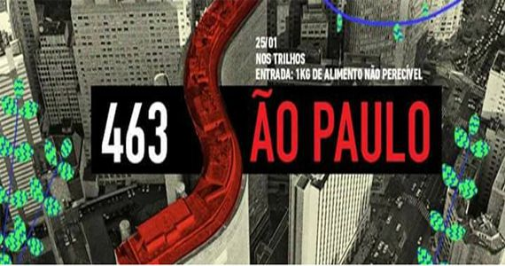 Quarta é dia de Food Truck no Nos Trilhos - Edição Especial Aniversário de São Paulo Eventos BaresSP 570x300 imagem