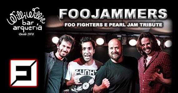 Banda FooJammers com tributo ao Foo Fighters e Pearl Jam no Willi Willie Bar e Arqueria Eventos BaresSP 570x300 imagem