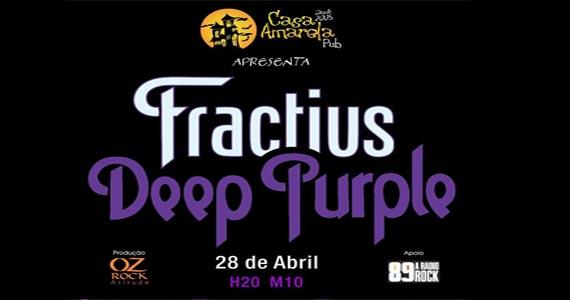 O rock vai invadir a Casa Amarela Pub com o som da banda Fractius Eventos BaresSP 570x300 imagem