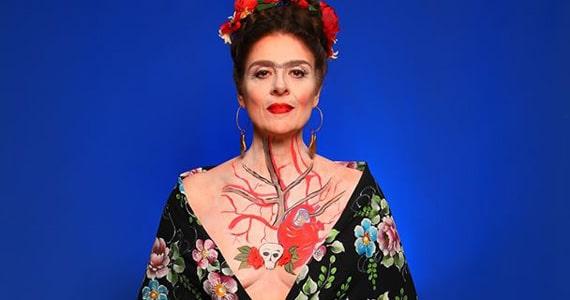 Sesc Pinheiros apresenta o espetáculo Frida Kahlo - Viva la Vida Eventos BaresSP 570x300 imagem