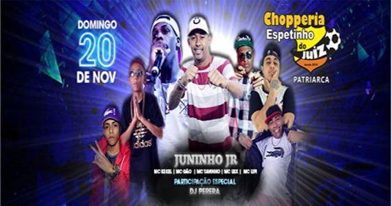O melhor do funk com Juninho Jr, Dj Pereira e convidados no Bar Espetinho do Juiz Patriarca Eventos BaresSP 570x300 imagem