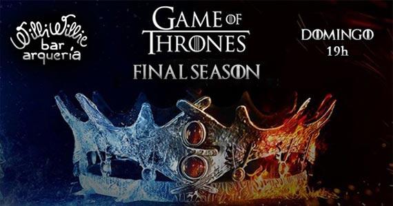 Willi Willie transmite o episódio final de Game of Thrones Eventos BaresSP 570x300 imagem