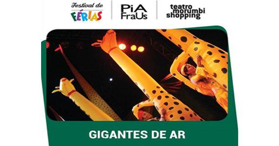 O espetáculo Gigante de Ar, Tributo a Cassia Eller e mais comemoram aniversário de SP no Centro Cultural São Paulo Eventos BaresSP 570x300 imagem
