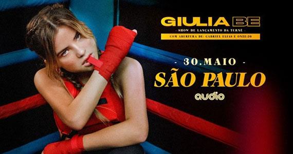 Giulia Be realiza show de estreia na Audio Eventos BaresSP 570x300 imagem