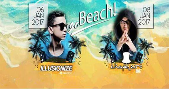 Pucci recebe para o primeiro final de semana do ano a GO! BEACH com Dj ILLUSIONIZE Eventos BaresSP 570x300 imagem