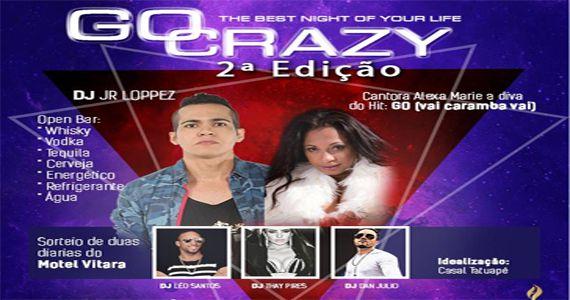 Go Crazy 2ª Edição com o set do Dj Jr Loppez e da cantora Alexa Marie no Hot Bar Eventos BaresSP 570x300 imagem