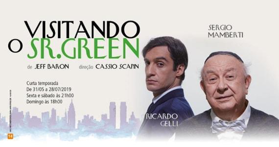Visitando o Sr Green estreia no Teatro Renaissance com Sergio Mamberti e Ricardo Gelli Eventos BaresSP 570x300 imagem