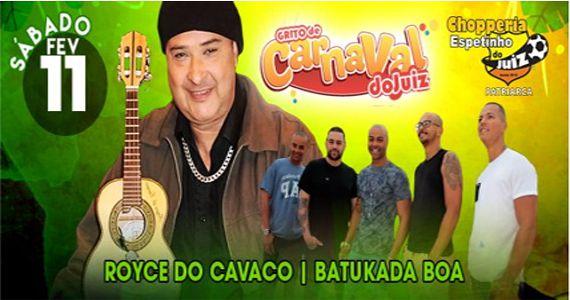 Grito de Carnaval do Juiz com Royce do Cavaco, Batukada Boa e à noite sertanejo com Marcia e Jonas no Bar do Juiz Eventos BaresSP 570x300 imagem