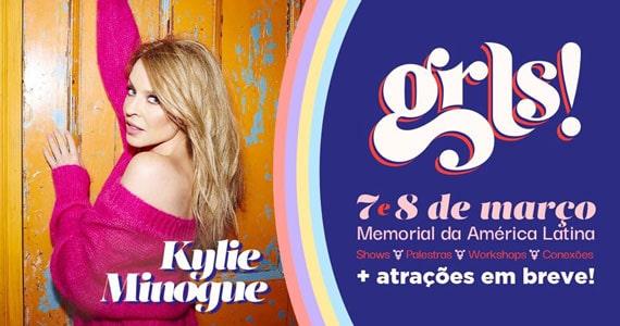 Kylie Minogue, Iza, Linn da Quebrada e mais participam do GRLS Eventos BaresSP 570x300 imagem
