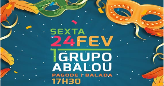 Esquenta para o carnaval com o Grupo Abalou agitando o happy hour na Companhia da Cerveja Eventos BaresSP 570x300 imagem