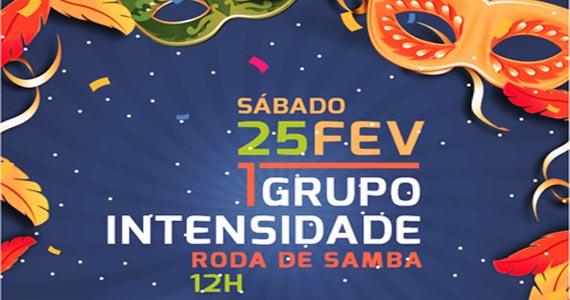 Sábado de carnaval com roda de samba embalada pelo Grupo Intensidade na Companhia da Cerveja Eventos BaresSP 570x300 imagem