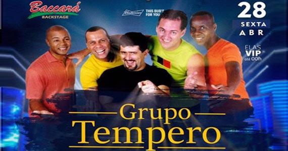 Muito sertanejo com Grupo Tempero, Ex é Ex e Dj Rato no Baccará Bar & Grill Eventos BaresSP 570x300 imagem