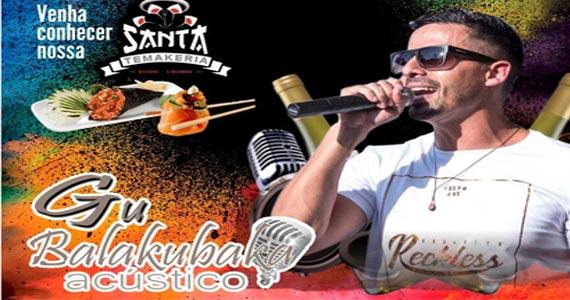 Eventos AgendaQuinta-feira vai rolar Happy Hour com Lucylla e Gu Balakubaka no Bar Santa Julia BaresSP