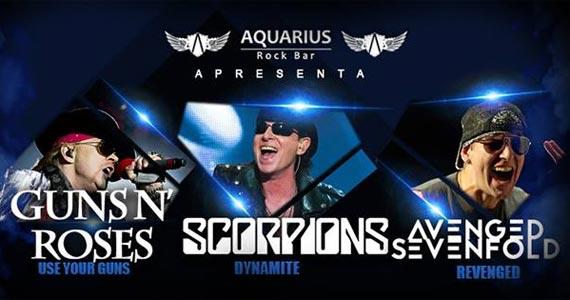 Aquarius Rock Bar traz para a noite de sexta os sucessos de Guns n Roses, Scorpions e Avenged Sevenfold Eventos BaresSP 570x300 imagem