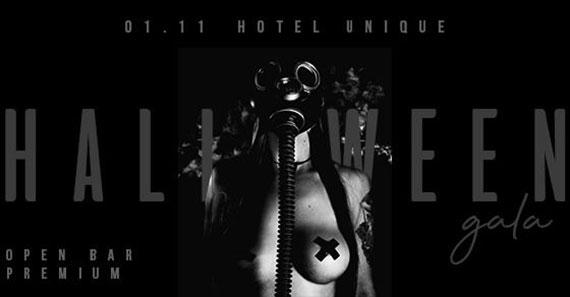 Hotel Unique realiza Halloween Gala We Clap com open bar premium Eventos BaresSP 570x300 imagem