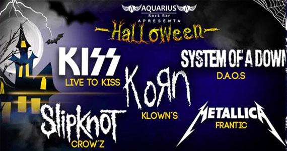 Aquarius Rock Bar preparou uma Festa de Halloween ao som de Kiss, Metallica, Korn e mais Eventos BaresSP 570x300 imagem
