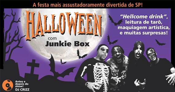 Banda Junkie Box anima a festa assustadoramente divertida de Halloween do Bourbon Street Eventos BaresSP 570x300 imagem