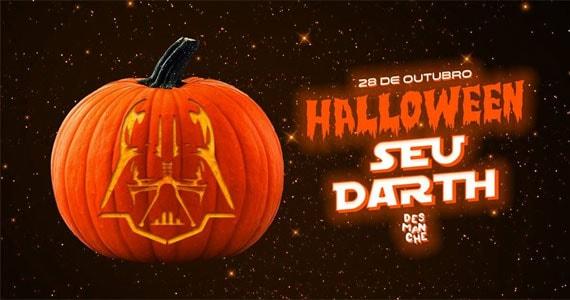 Sábado tem Halloween do SEU DARTH no Espaço Desmanche Eventos BaresSP 570x300 imagem