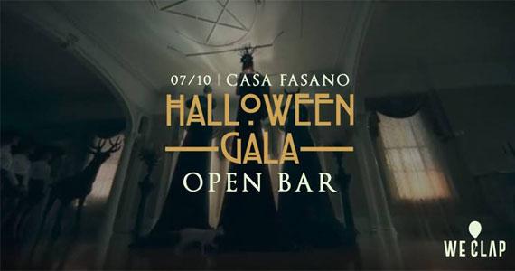 Casa Fasano recebe a 7ª edição da festa Halloween de Gala Open Bar Eventos BaresSP 570x300 imagem