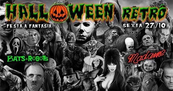 Madame realiza Festa de Halloween Retrô com Djs embalando a noite Eventos BaresSP 570x300 imagem