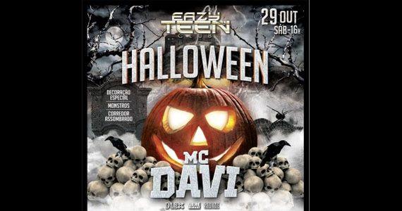 Eazy Teen Club apresenta Festa de Halloween com o funkeiro Mc Davi Eventos BaresSP 570x300 imagem