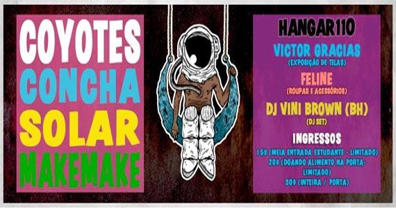 Festa D OCÊ SÃMPÁ apresenta bandas como Make Make no Hangar 110 Eventos BaresSP 570x300 imagem