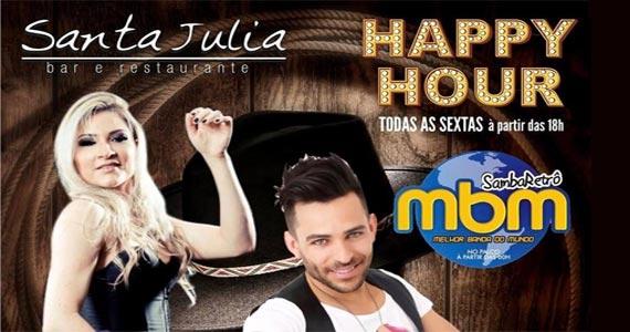 Sexta é dia de happy hour com Lucylla e Rodrigo Reis no Bar Santa Julia Eventos BaresSP 570x300 imagem