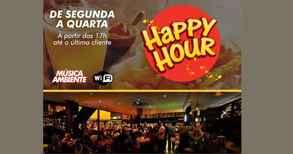 Eventos AgendaHappy Hour com petisco, chopp e Ferretti no Bar Santa Julia BaresSP