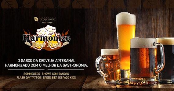 Shopping Granja Vianna apresenta o Harmonize Beer Fest Eventos BaresSP 570x300 imagem